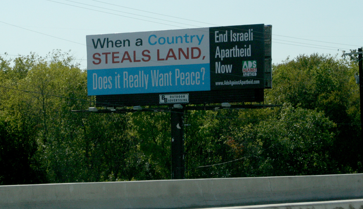 Ads Against Apartheid Arrives in Dallas