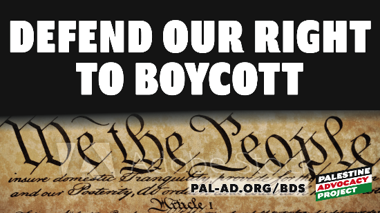 defend our right to boycott